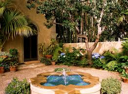 Mediterranean Garden Designs Impressive Mediterranean Garden Design Image