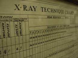 X Ray Positioning Chart South Carolina Radiology Schools