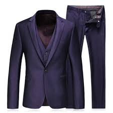 3 Piece Latest Design Mens Wedding Dress Purple Black Blue Shiny Coat Pant Mens Suits Buy Coat Pant Mens Suits 3 Piece Wedding Suit Shiny Wedding