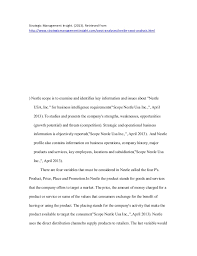 nestle business research paper  6