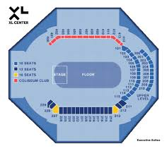 Wwe Seating Chart Xl Center Family Show Other Xl Center