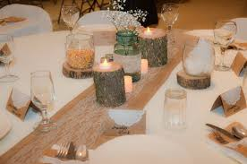 Country Table Decorations Burlap And Lace Country Wedding Decorations Plowing Through Life
