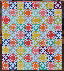 Happy Quilting: Endless Summer Quilt & As soon as Vanessa sent me a picture of the pattern, I loved it!! What a  gorgeous design!!! The quilt uses her new line Simply Colorful RED, ORANGE,  ... Adamdwight.com