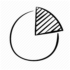 Hand Drawn Pie Chart Data Statistics By Caroline Mackay