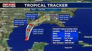 Tropical storm warnings up for parts of ...