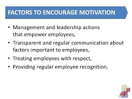 Organisational Behaviour Motivation Case Studies