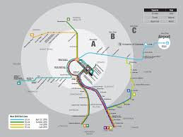 updated official map denver rtd rail services  transit maps