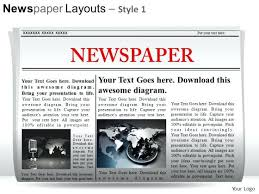 Spoof Newspaper Template Free Newspaper Template Free Download News Website Templates Bootstrap