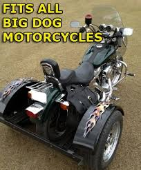 dog motorcycle trike kit fits all models