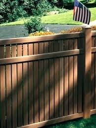 brown vinyl fence panels. Lowes Vinyl Picket Fence Panel Imperial Semi Privacy With Cedar Texture Wood Brown Panels N