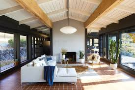 70 s style mid century modern ranch with terracotta tile coco kelley