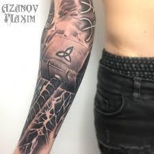 татуировка в днепре цена фото максим азанов мастер тату