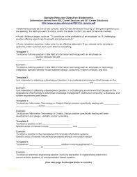 Objective Statement For Resume Samples Resume Administrative