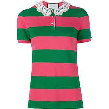 gucci polo. gucci piqué polo shirt - green t
