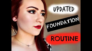updated foundation routine using l oreal true match