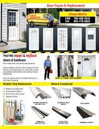 always mobile door repair break in replacement door and fram adjustments old and