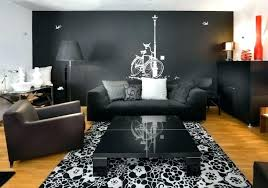graceful gray wall decor ideas black living room dining grey light walls art for