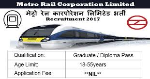 metro rail corporation limited recruitment engineers posts  metro