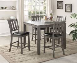 cly counter height dining chairs cosgrove grey pub set ashley black 22 4