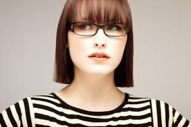 Essayage de lunette de vue