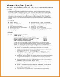Professional Summary For Resume Example Of A Good Summary Design Resume Template How To Write 62
