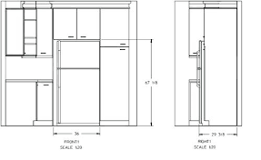 refrigerator sizes in inches average dimensions fabulous french door standard fridge height mm i e44