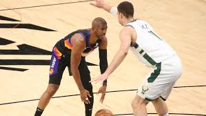 Et — giannis is going to play in game 1 vs. Nba Finals Game 1 Chris Paul Leads Phoenix Suns Past Milwaukee Bucks