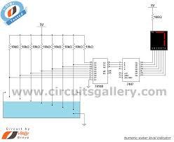 17 best ideas about level sensor arduino transistor numeric water level indicator liquid level sensor circuit diagram 7 segment display engineering