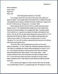 Apa Paper Heading Apa Essay Style Headings