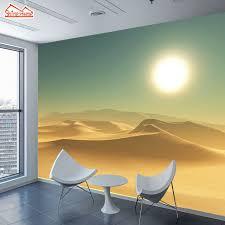 home office wallpaper. ShineHome-Large Custom Wallpapers 3d Living Room Desert Sunset Abstract Landscape Office Home Bedroom Wallpaper