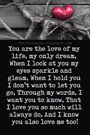 You Are The Love Of My Life Quotes Custom 48 Best How I Love You Images On Pinterest I Love You Love Of