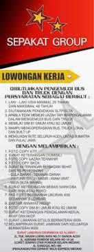The price is $13 per night from jan 17 to jan 18$13. Lowongan Kerja Supir Bus Dan Truck Pada Sepakat Group