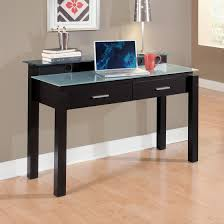 glass top office desk style