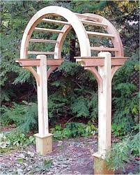 Small Picture Arbors Arches Pergolas by Island Post Cap