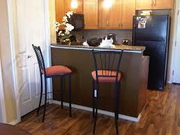 Raised Kitchen Floor Raised Breakfast Bar Swedish Assistant Design Leather Kitchen
