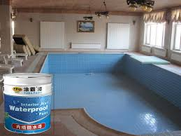 tuba hot interior exterior waterproof coating for swimming pool use