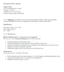 resume examples for warehouse worker resume examples for warehouse worker breathelight co