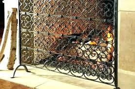iron fireplace screen. Terrific Wrought Iron Fireplace Screen Screens Custom Made N