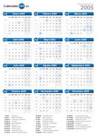 Calendario 2015 Argentina Calendario 2005