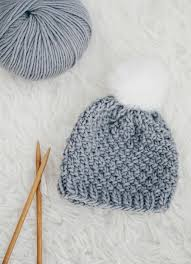 Free Knitting Patterns For Baby Hats Simple Decorating