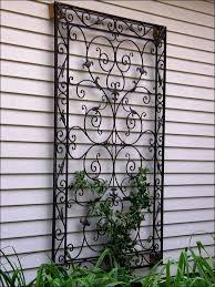 decorative metal garden wall art decor ideas design wrought iron outdoor panels trends home 582x776 awesome