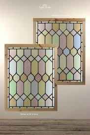 reclaimed stained glass panels in frame 16271 pic1 size1 jpg