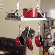 Hanging Kitchen Pot Rack Kitchen Accessories Pot Rack Treatment Windows All Bars Pot Rack