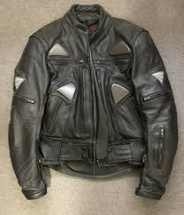 teknic bikers black leather jacket