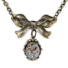 steampunk jewelry necklace vintage