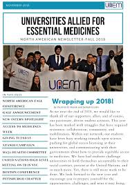 News Letters Newsletters Universities Allied For Essential Medicines