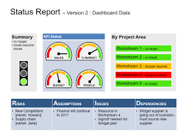Project Status Slide Keynote Status Template Clear Successful Status Reports
