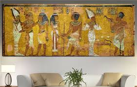 egyptian decor canvas painting oil painting wall pictures for living room wall decor large canvas art no framed 80cmx200cm