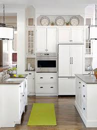 Simple White Kitchen Cabinets Custom 48 Stylish Ideas For Decorating Above Kitchen Cabinets