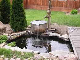 Backyard Ponds Best 25 Pond Fountains Ideas On Pinterest Ponds Backyard Ponds